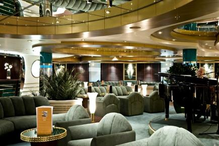 MSC Splendida La Prua Piano Bar