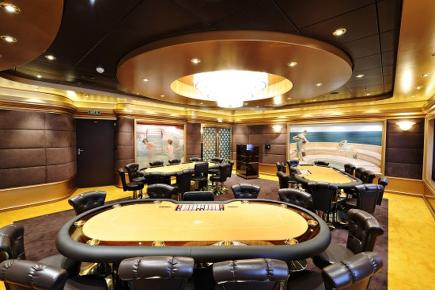 MSC Splendida Poker Room