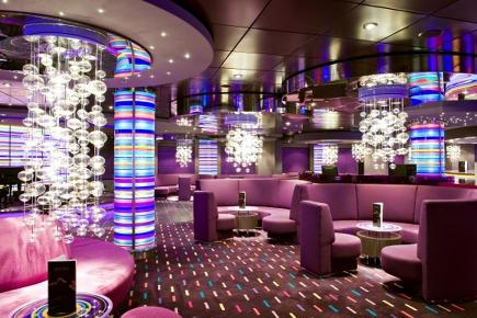 MSC Splendida Purple Jazz Bar