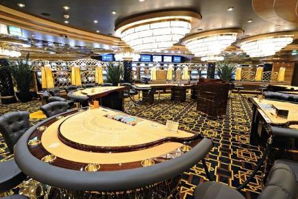 MSC Splendida Royal Palm Casino