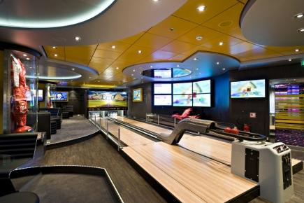 MSC Splendida Sports Bar