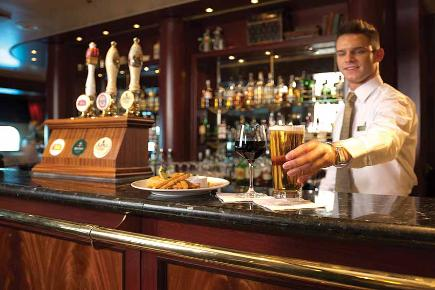 Barkeeper | Queen Mary 2