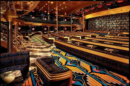 Sapphire Lounge | Carnival Ecstasy