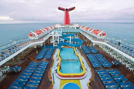 Pool Deck | Carnival Elation