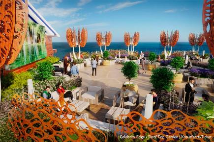 Roof Top Garden - Celebrity Edge