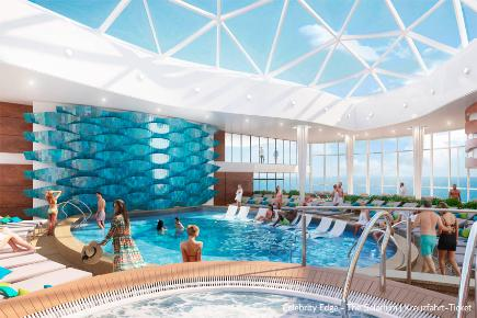 Celebrity Edge - The Solarium