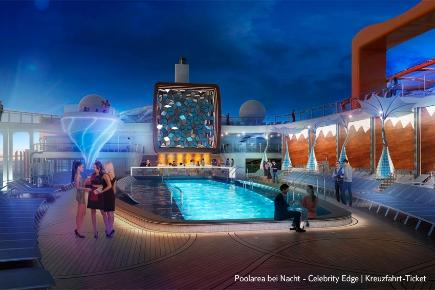 Pool der Celebrity Edge