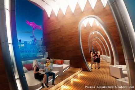 Lounges der Celebrity Edge