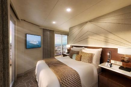 Sky Suite I Schlafzimmer I Discovery Princess