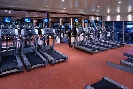Fitness Center | Queen Mary 2