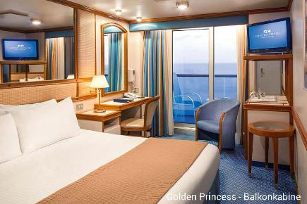 Balkonkabine | Golden Princess