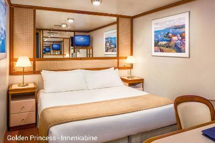 Innenkabine | Golden Princess