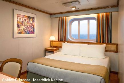 Meerblick Kabine | Golden Princess