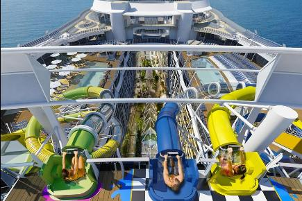 Wasserrutschen - Harmony of the Seas