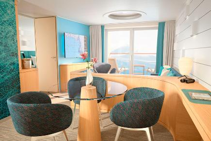Junior Suite der HANSEATIC nature