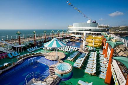Norwegian Gem Poolbereich
