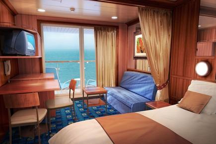 Club Balcony Suite der Norwegian Star