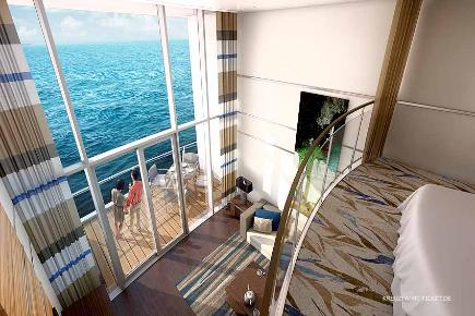 Ovation of the Seas - Owners Loft Suite Meerblick
