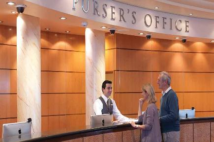Pursers Office | Queen Mary 2