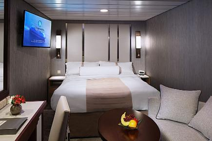 Innenkabine der Azamara Pursuit