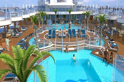Regal Princess Poolbereich