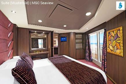 Suite der MSC Seaview