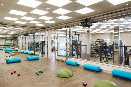 Fitness Center I Silver Dawn