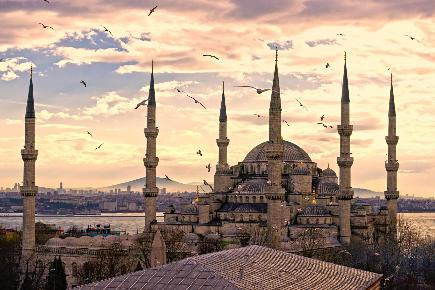 Istanbul, Sultan Ahmed Moschee