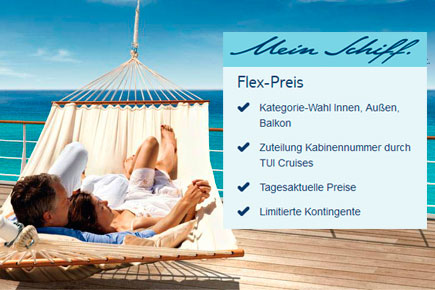 TUI Cruises FlexPreis