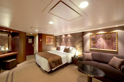 MSC Divina Executive & Family Yacht Club Suite