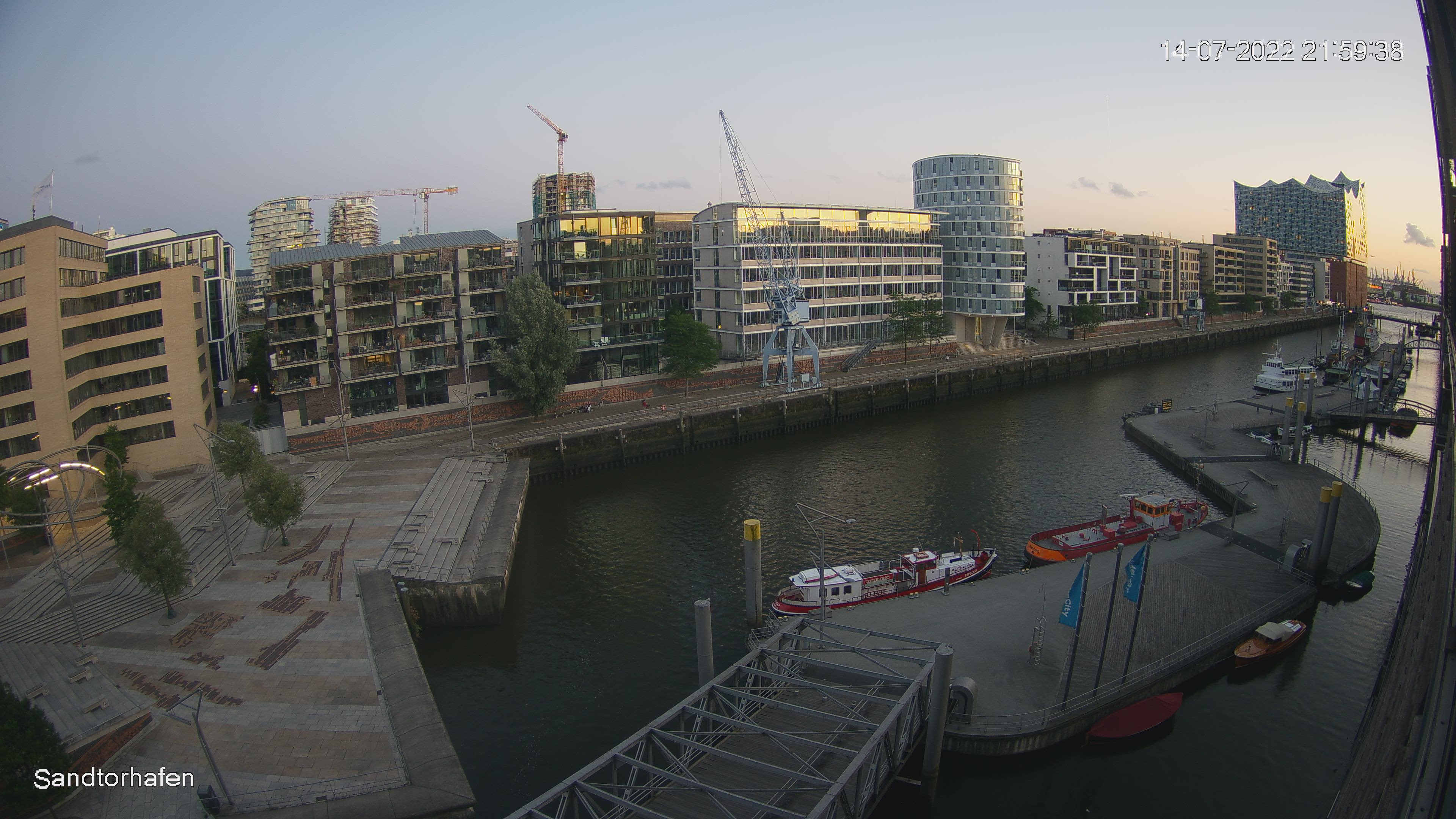 Hamburg: Sandtorhafen