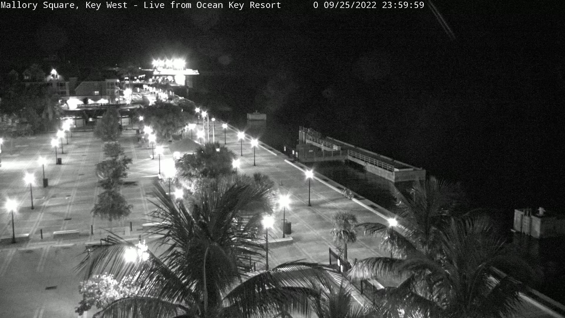 Blick auf den Pier in Key West