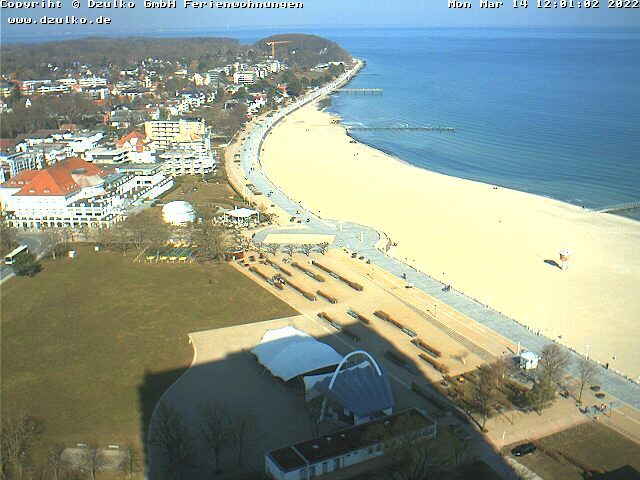 Webcam vom Maritim Strandhotel in Lübeck Travemünde