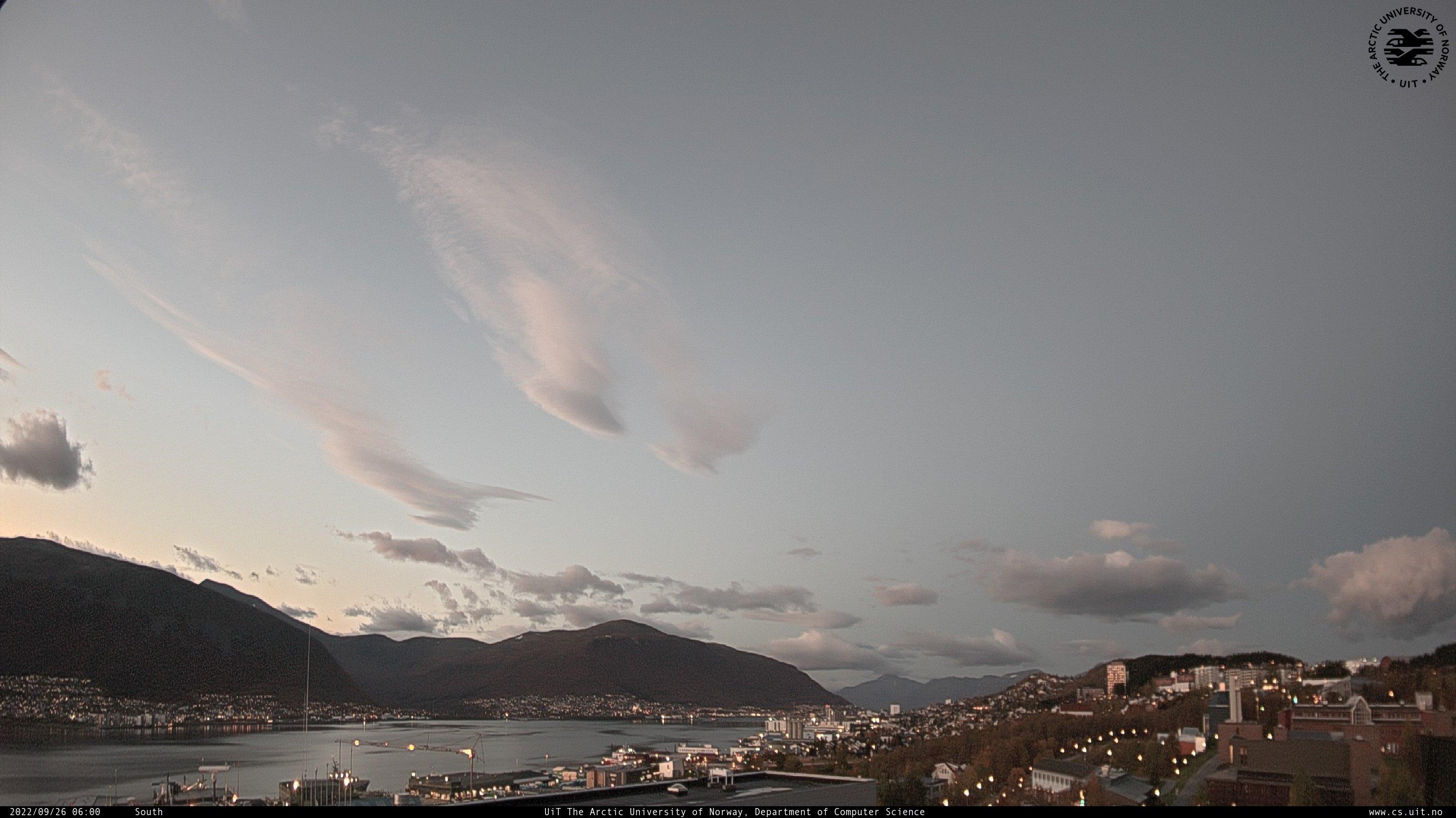 Webcam der Arctic University of Norway in Tromso