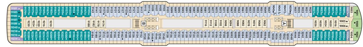 Aktueller Deckplan Der Mein Schiff 6