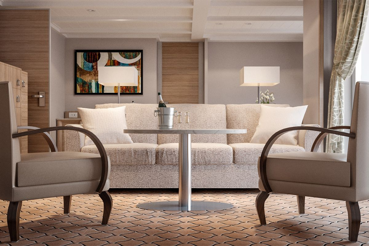 Silver Cloud, Owner's Suite (O1)